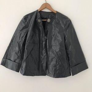 Zara Limited Edition | Dark Gray Short Rain Coat